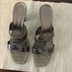 AK Anne Klein heeled sandals